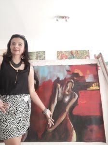 Adriana Silva, colombiana embajadora del arte hispanoamericano en Europa y EEUU, regresa a París con nueva exposición