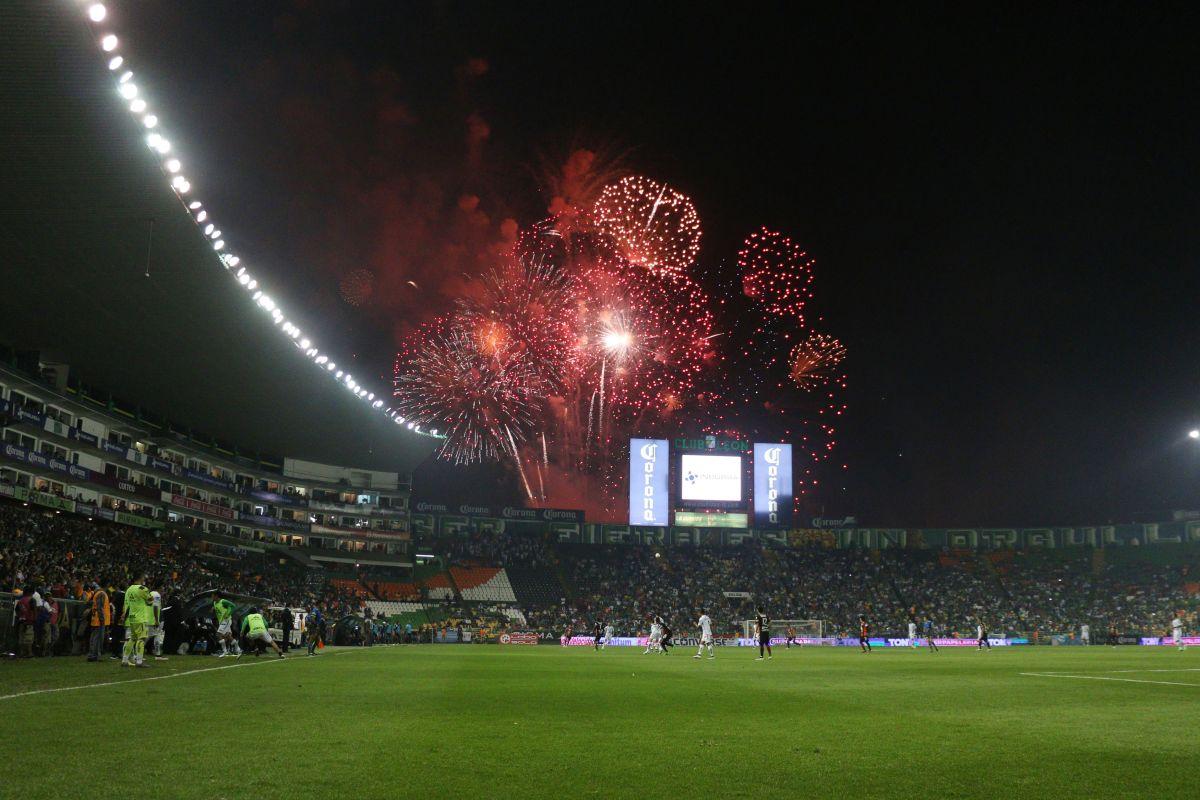El Estadio no sufrió mayores daños.