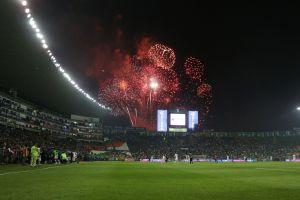 VIDEO: Se incendia el estadio del León tras intento de robo