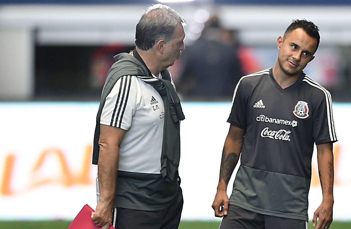 """Martino respetó la decisión del """"Chapito""""."""