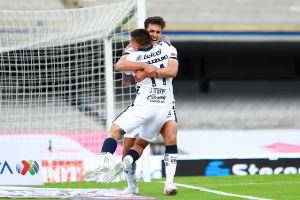Pumas golea al Puebla y siguen invictos en la Liga MX