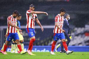 A los jugadores de Chivas no les habría gustado la actitud de Oribe Peralta y Antuna tras el Clásico