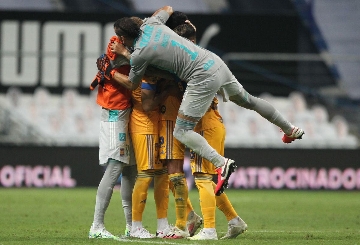 Tigres venció al odiado rival.