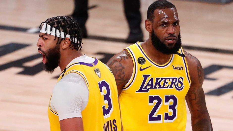 Los Lakers pegan primero y se van arriba en las Finales ante el Heat