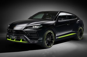 Personalización Graphite Capsule para el Lamborghini Urus