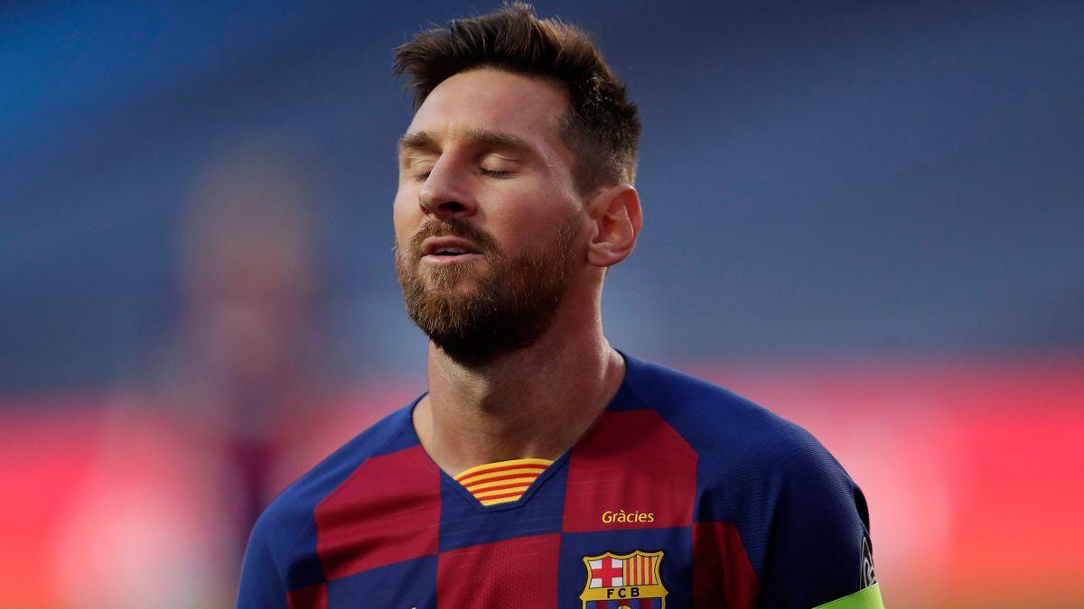 Messi confirmó su permanencia en el Barcelona.