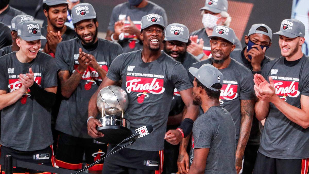 La victoria permite a los Heat volver a las Finales de la NBA por primera vez desde el 2014
