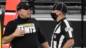 $100,000 dólares de multa a los coaches de Saints y Raiders por no usar cubrebocas