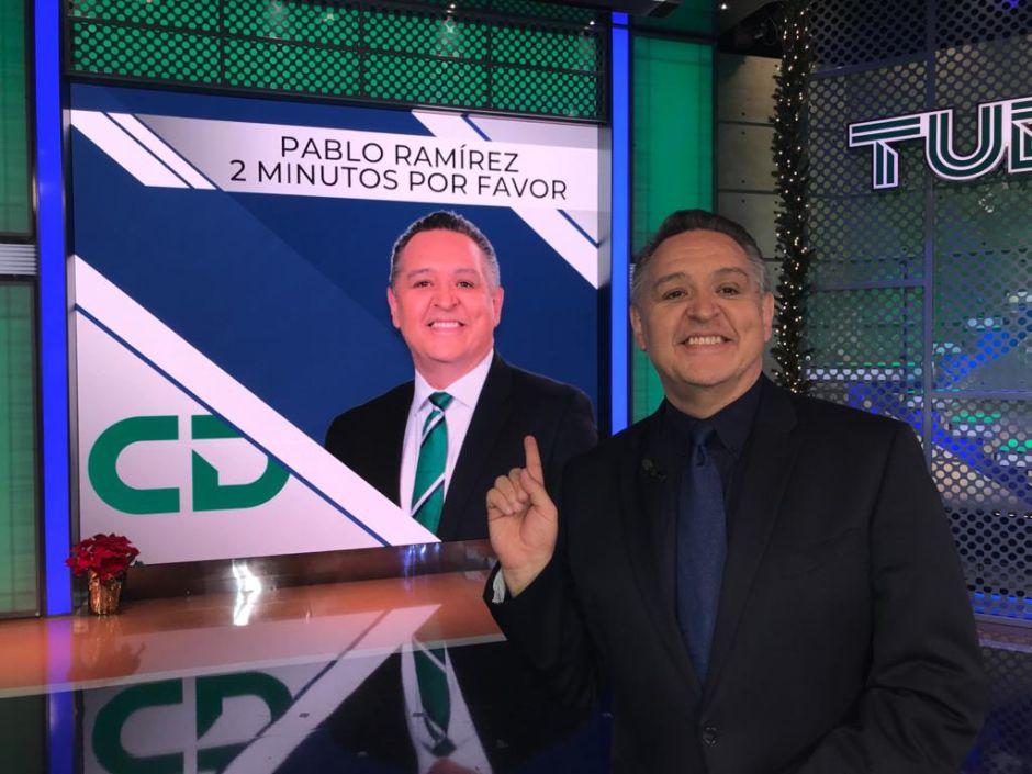 """¡Golazo, golazo, golazo!"": Pablo Ramírez celebra 20 años de pasión como cronista de Univision"