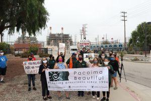 Residentes de Sun Valley: 'Queremos que pare la fuga de metano'