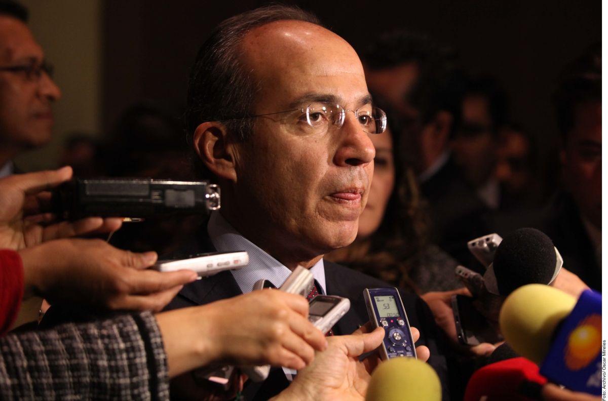 Felipe Calderón Hinojosa.