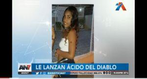 """Desconocidos le desfiguran la cara y dejan ciega a joven en República Dominicana con """"ácido del diablo"""""""