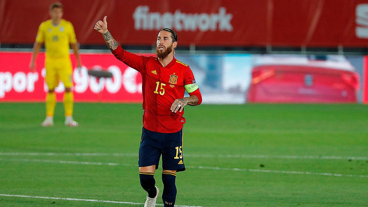 Ramos suma 23 tantos en 171 partidos.