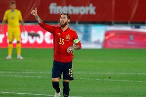 Sergio Ramos se convierte en el defensa más goleador de cualquier selección