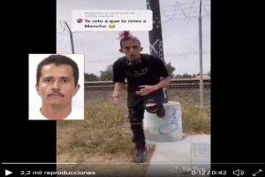 """VIDEO: """"Hice un pacto con el Diablo, yo te vine a mandar fuego Mencho"""", joven amenaza a líder del CJNG"""