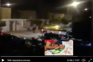 VIDEO: Captan balacera donde sicarios mataron a 5 mujeres en velorio