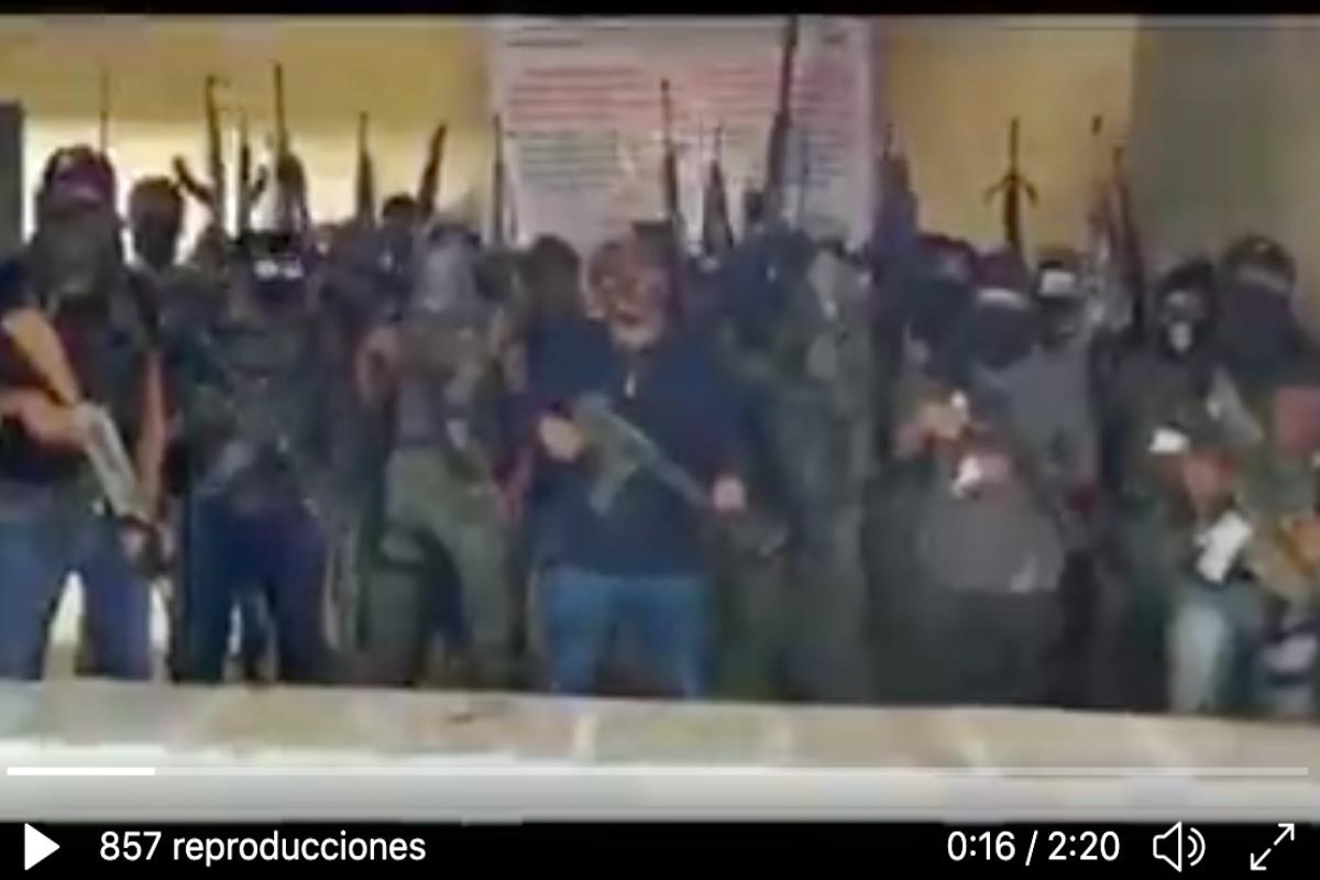 VIDEO: Narcos amenazan con matar a todos los que no les paguen extorsiones