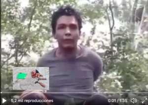 VIDEO: Narcos interrogan y descuartizan a hombre tras confesar supuestos crímenes
