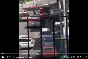 VIDEO: Policías así abatieron a 2 criminales que los atacaron a balazos