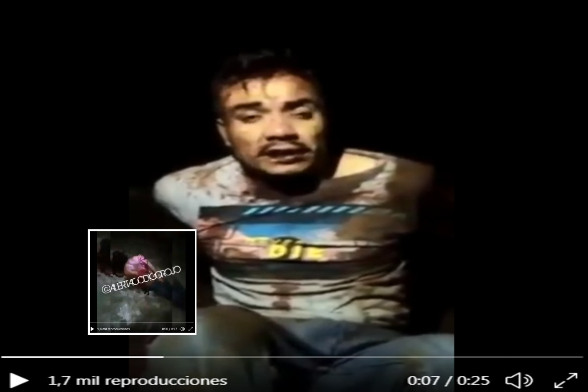 VIDEO: Sicarios del CJNG golpean brutalmente a uno del Cártel de Sinaloa