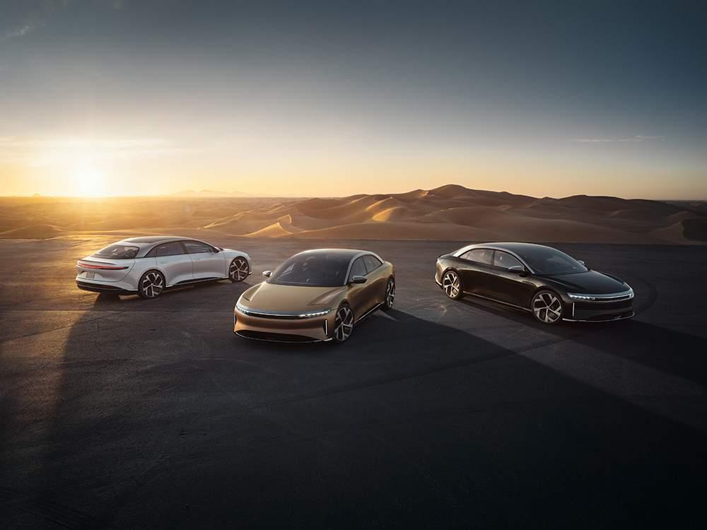 Lucid Motors utiliza debut del Air para revelar un nuevo SUV eléctrico