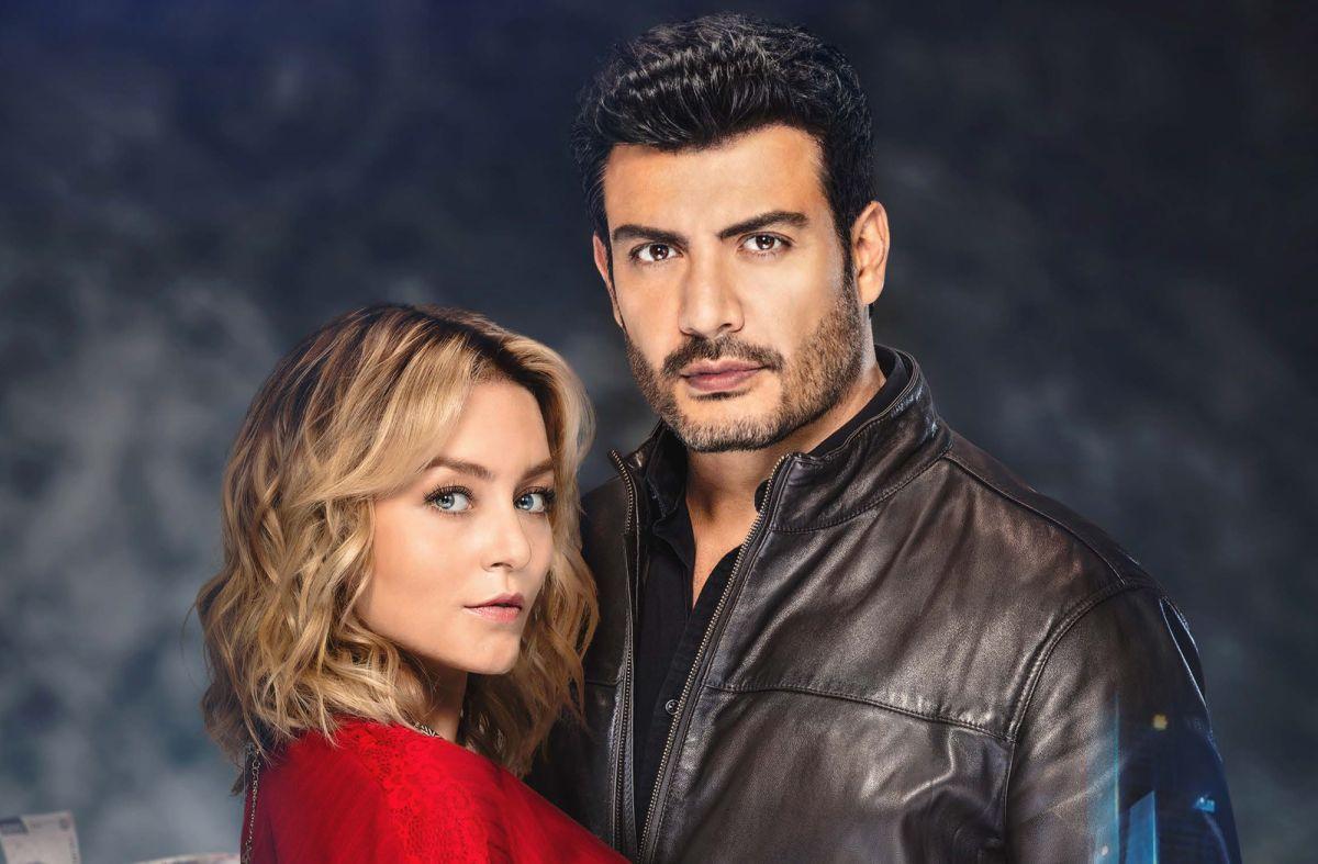"""Angelique Boyer y Andrés Palacios, protagonizan """"Imperio de Mentiras""""."""