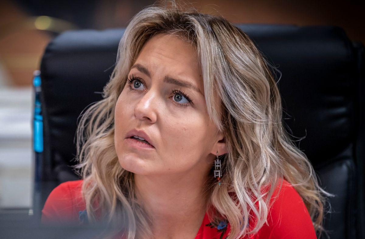Angelique Boyer es Elisa Cantú en 'Imperio de Mentiras'.