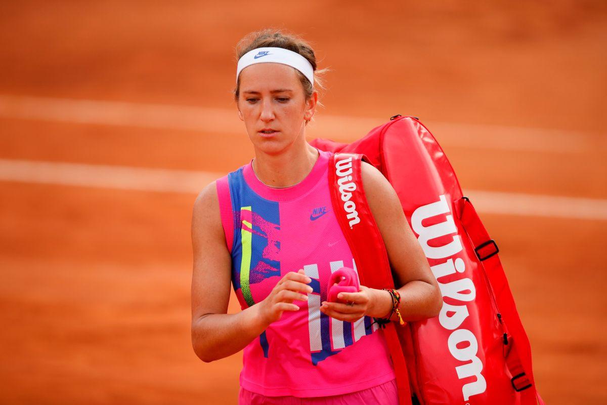 Victoria Azarenka no estuvo dispuesta a jugar en esas temperaturas.