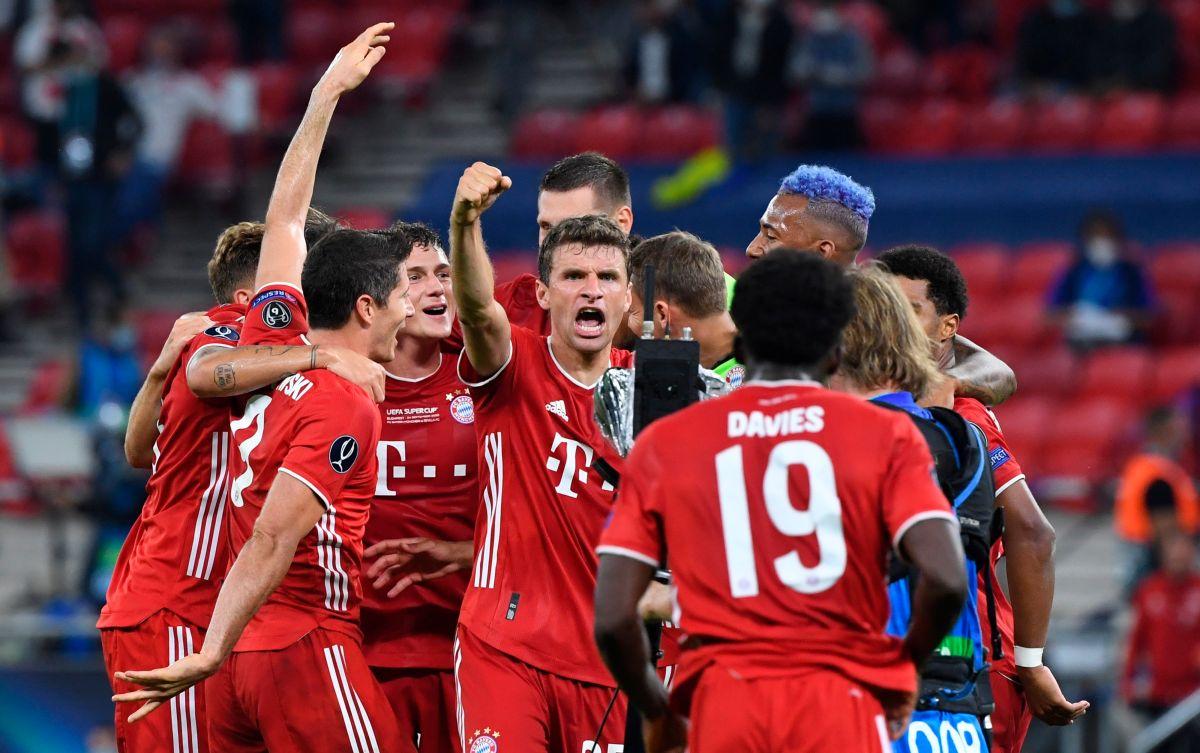 Bayern Múnich, campeón de la Súper copa.