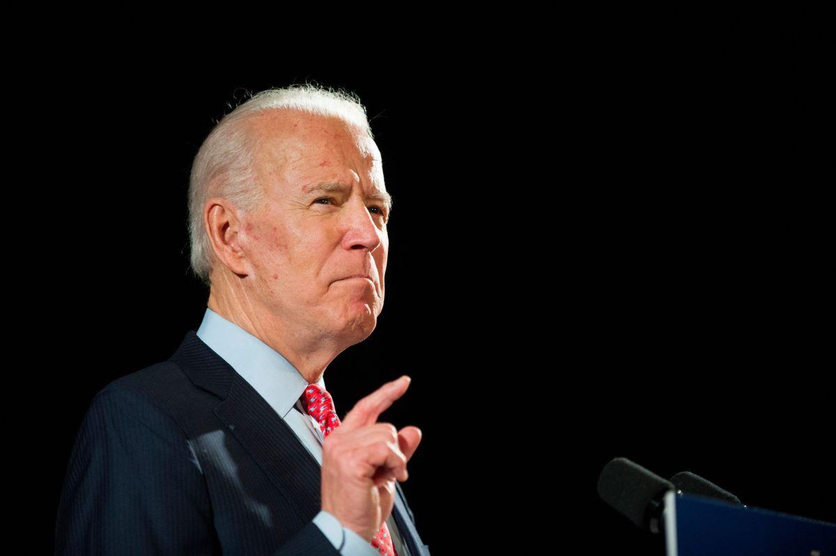 Joe Biden, candidato presidencial.