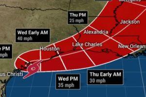 Beta ya vapulea la costa de Texas; se reportan inundaciones en el área metropolitana de Houston