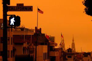 San Francisco y el área de la Bahía se pintaron de color naranja en un raro fenómeno