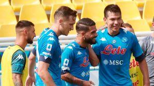 """""""Chucky"""" Lozano fue titular y determinante: sólido triunfo del Napoli en el arranque de la Serie A"""