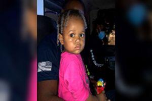 Encuentran a la niña que apareció sola en un estacionamiento de Miami