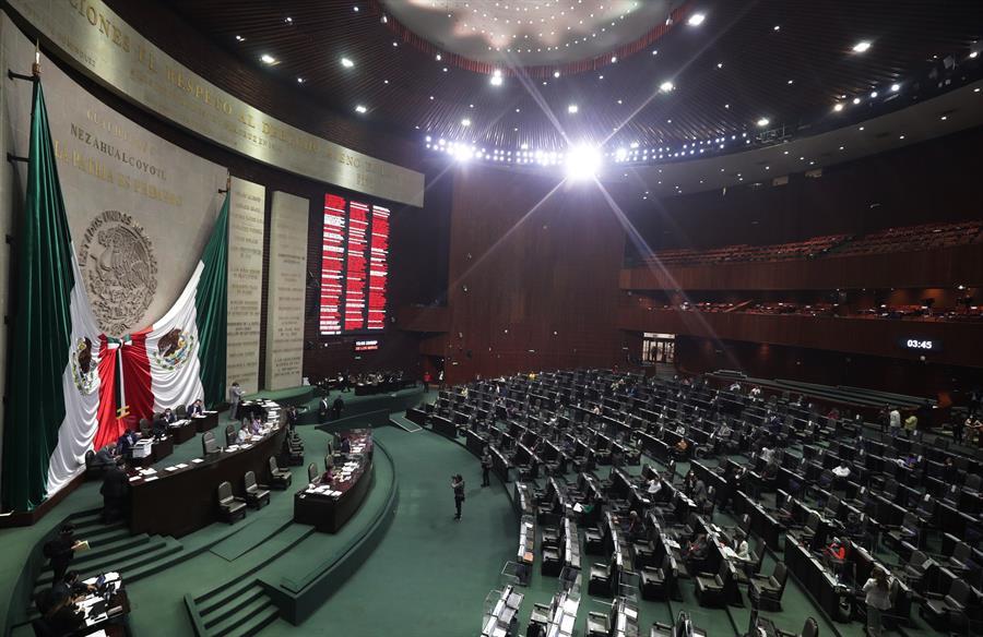 Cámara de Diputados en México.