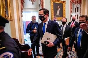 Retrasan votación en el Congreso sobre el nuevo paquete de estímulo demócrata, que incluía los $1,200