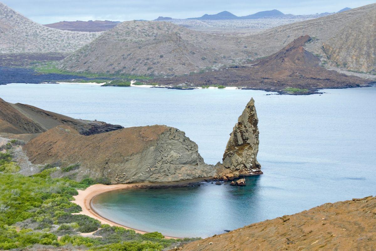 Las Islas Galápagos están especialmente protegidas.