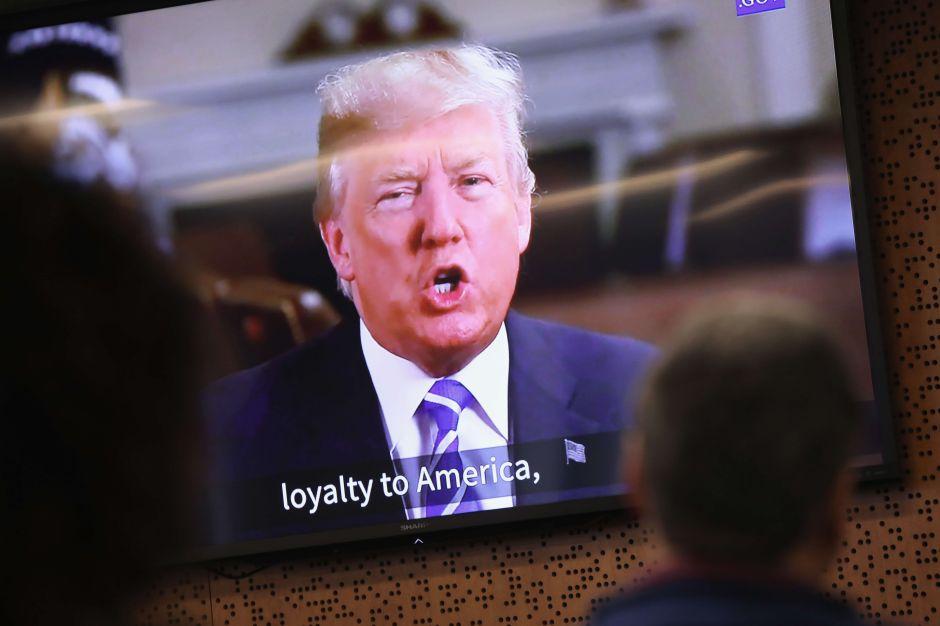 """Trump afirma que tiene un plan migratorio de """"gran impacto"""" y """"muy fuerte"""""""