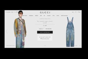 FOTO: Gucci vende un overol desgastado y manchado en $1,400 dólares