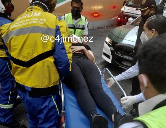 La mujer quedó gravemente herida.