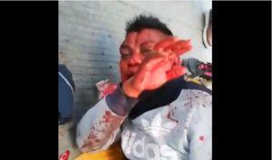 VIDEO: Propinan golpiza a presunto ladrón en el Estado de México