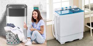 Los mejores diseños de mini lavadoras para casas con poco espacio