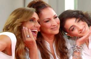 Gloria Estefan y Lili Estefan tienen nuevo programa en Facebook Watch, 'Red Table Talk: The Estefans'