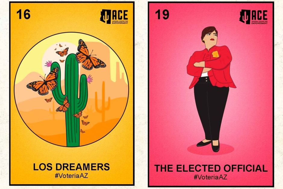 Campaña se inspira en la lotería mexicana para movilizar al voto latino