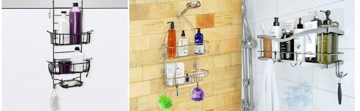 Los 5 mejores organizadores para tener en la ducha de forma segura