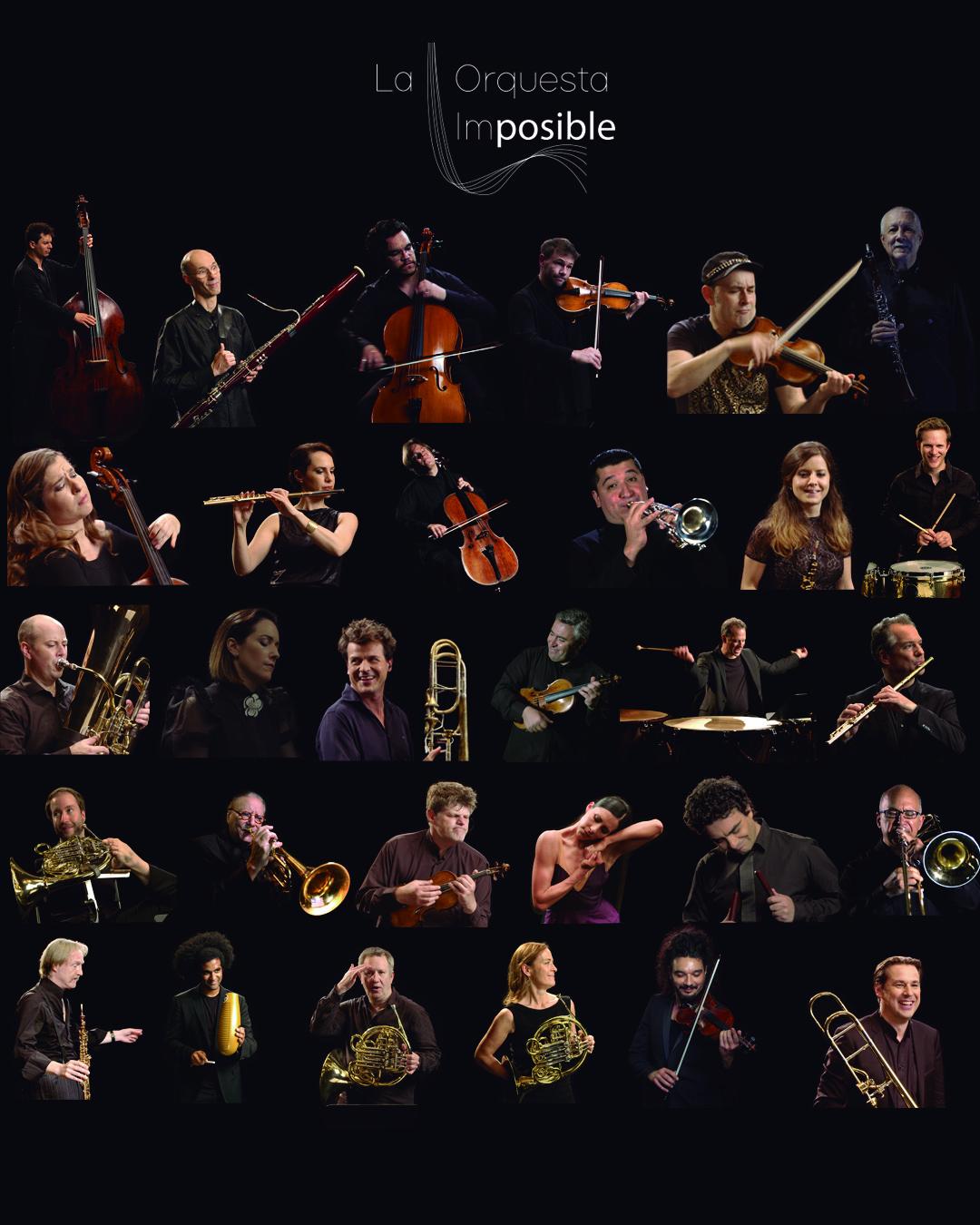 Disfruta el evento #LaMúsicaNosMueve de La Orquesta Imposible y Alondra de la Parra