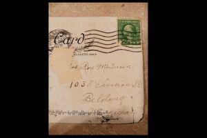 FOTO: Encontró en su buzón una postal enviada hace 100 años y esto es lo que dice