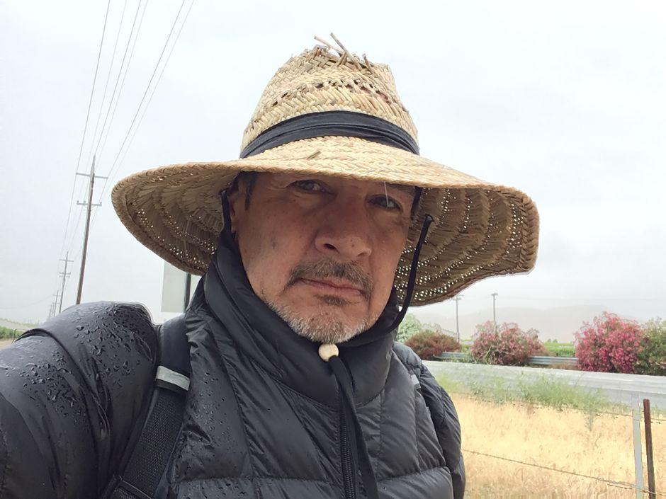 Caminata maratónica por los agricultores