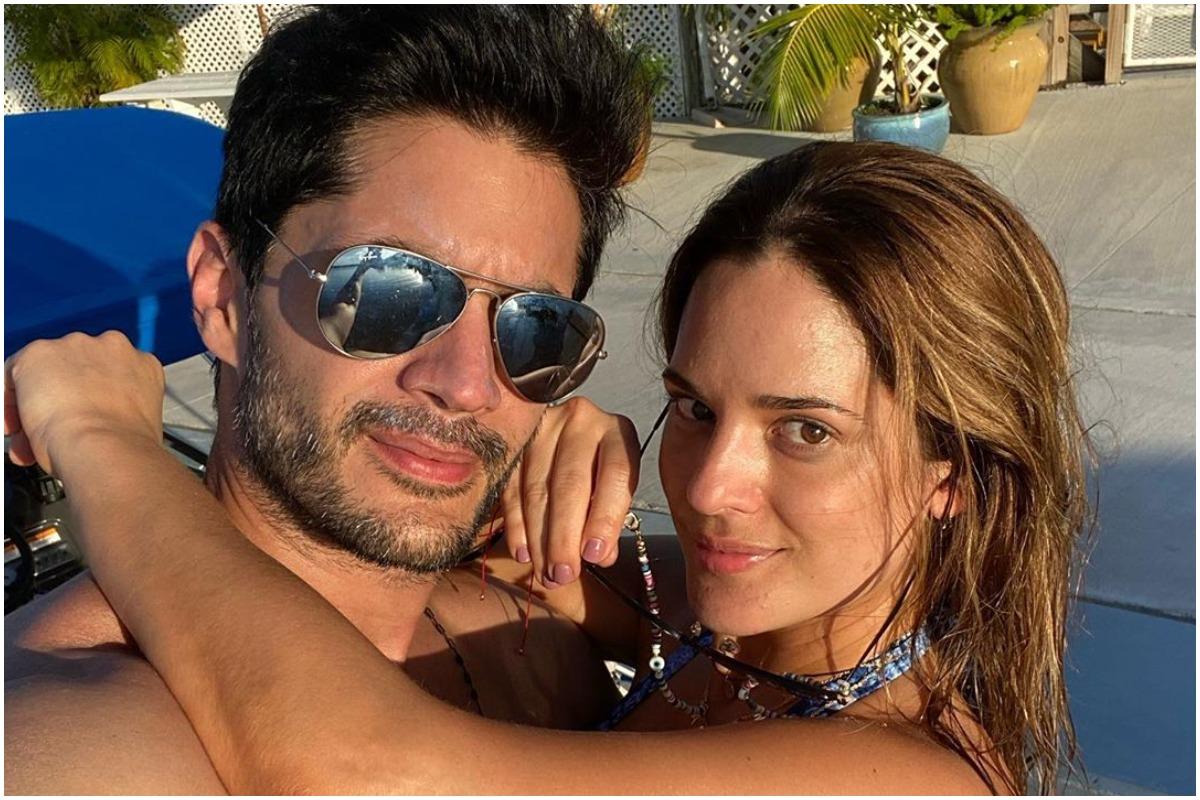 Daniel Elbittar y Sabrina Seara hacen de las suyas en su casa de Miami.