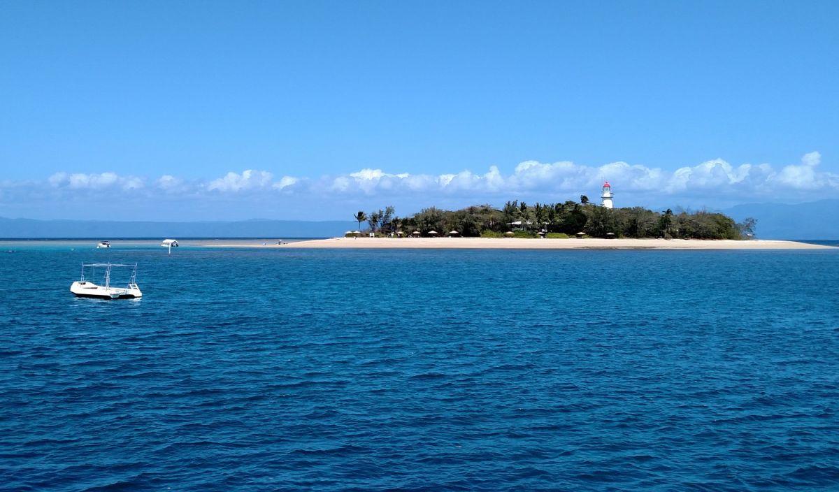 Low Isles, en Queensland, está rodeada por la Gran Barrera de Coral.